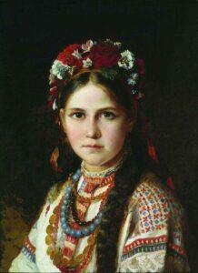 українка дівчина